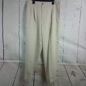 "Caribbean Joe ""Let Go"" Men's Beige Dress Pants 38W"